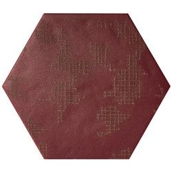 Ornamenti GF Terra Bordeaux | Keramik Fliesen | Valmori Ceramica Design