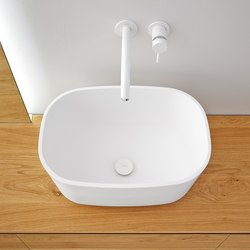 Fontain Top Mount Matt Solidsurface Sink | Lavabi | Inbani