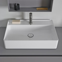 Nest Top Mount Ceramilux® Sink | Lavabos | Inbani