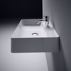 Nest Wall Mount Ceramilux® Sink | Wash basins | Inbani