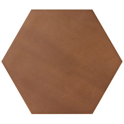 Konzept Color Mood Hexagon Terra Cotta | Bodenfliesen | Valmori Ceramica Design