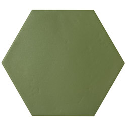 Konzept Color Mood Hexagon Terra Verde | Carrelage céramique | Valmori Ceramica Design