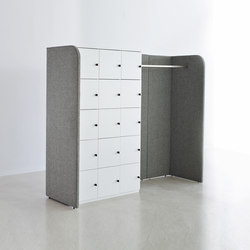 Space organization system paravento hub | Coat stands | ophelis