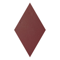 Konzept Shapes Rombo Terra Bordeaux | Ceramic tiles | Valmori Ceramica Design