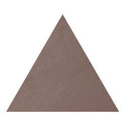 Konzept Shapes Triangle Terra Tortora | Ceramic tiles | Valmori Ceramica Design