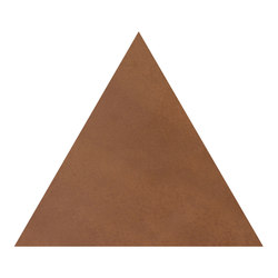 Konzept Shapes Triangle Terra Cotta | Ceramic tiles | Valmori Ceramica Design