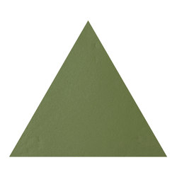 Konzept Shapes Triangle Terra Verde | Ceramic tiles | Valmori Ceramica Design