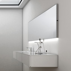 Strato Wall Lighting Mirror | Mirrors | Inbani