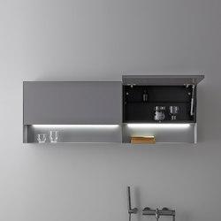 Strato Metallic Wall Cabinet | Wall cabinets | Inbani