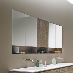 Strato Metallic Wall Cabinet | Armoires à miroirs | Inbani