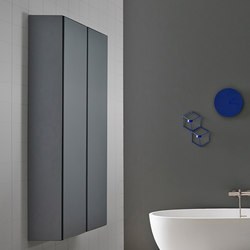 Strato Metallic Wall Cabinet | Armoires de salle de bains | Inbani