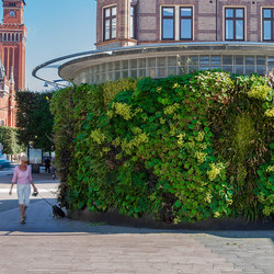 Outdoor Plant Walls | Green facades | Greenworks