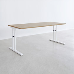 L Series worktable | Escritorios individuales | ophelis