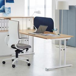 L Series Desk | Scrivanie individuali | ophelis