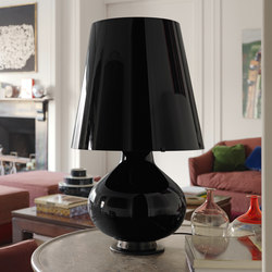Fontana Total Black Table lamp big | Table lights | FontanaArte