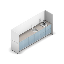 R-modul | Compact kitchens | werner works