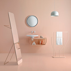 Bowl Bathroom Furniture Set 7 | Meubles lavabos | Inbani