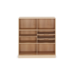 Mogens Koch bookcase | Shelves | Carl Hansen & Søn