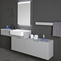 Strato Bathroom Furniture Set 04 | Vanity units | Inbani