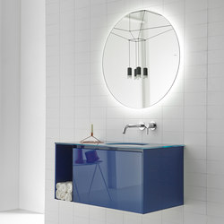Strato Bathroom Furniture Set 05 | Meubles sous-lavabo | Inbani