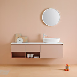 Strato Bathroom Furniture Set 6 | Meubles sous-lavabo | Inbani