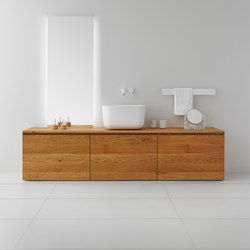 Strato Bathroom Furniture Set 07 | Meubles sous-lavabo | Inbani