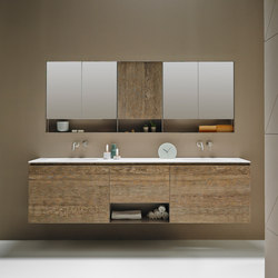 Strato Bathroom Furniture Set 08 | Meubles sous-lavabo | Inbani