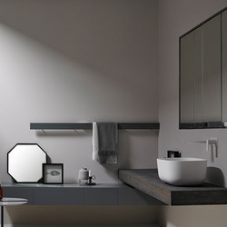 Strato Collection - Set 25 | Vanity units | Inbani