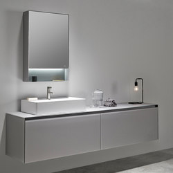 Strato Bathroom Furniture Set 01 | Meubles sous-lavabo | Inbani