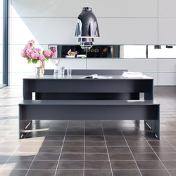 Riva rectangular table | Dining tables | Conmoto