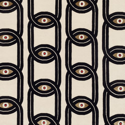 Spazio Pontaccio Eyes in Chains | Rugs / Designer rugs | cc-tapis