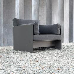 Riva lounge Lounger | Garden armchairs | Conmoto