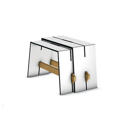 Tension side table | Tables d'appoint de jardin | Conmoto