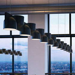 Igloo System Suspension lamp | Suspended lights | FontanaArte