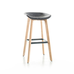 Chairman bar stool wood | Taburetes de bar | conmoto