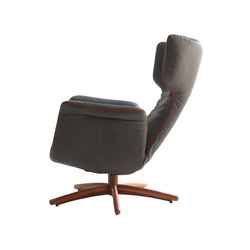 First Class lounge chair | Poltrone reclinabili | Label van den Berg