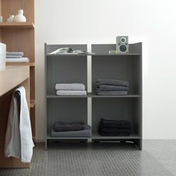 Rotondo shelf 80 x 90 | Bath shelving | Conmoto
