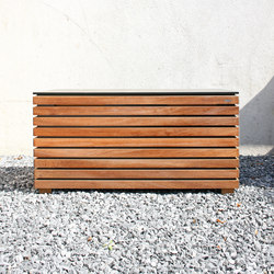 Forte  cushion box | Coffres de jardin | Conmoto