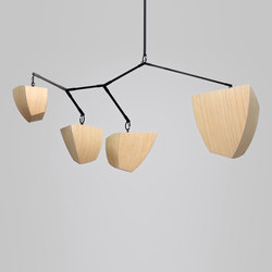 Constantin 4 BCDE | Suspended lights | Andrea Claire Studio