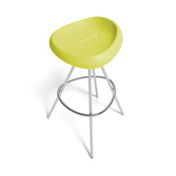 Beaser 80, bar stool | Sgabelli bar | Lonc
