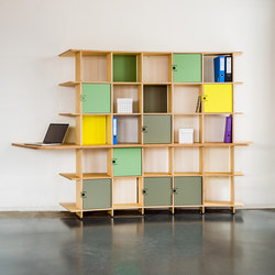 350 Custom furniture | Office shelving systems | Jo-a