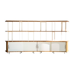 Arches Bookcase 240 | Office shelving systems | Jo-a