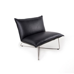 Earl brushed stainless steel low back | Fauteuils | Jess