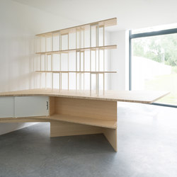Arches Desk and Storage | Sistemi scaffale ufficio | Jo-a