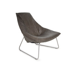 Beal brushed stainless steel | Armchairs | Jess