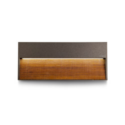 Skill Wood rectangular | Outdoor wall lights | Simes