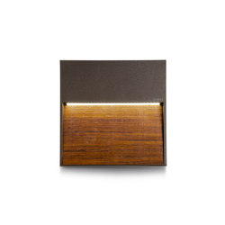 Skill Wood square | LED lights | Simes