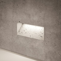 Ghost horizontal | Outdoor recessed wall lights | Simes