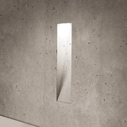 Ghost vertical | Outdoor recessed wall lights | Simes