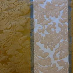 Dynastie Ornament Stripe | Tissus pour rideaux | Rasch Contract